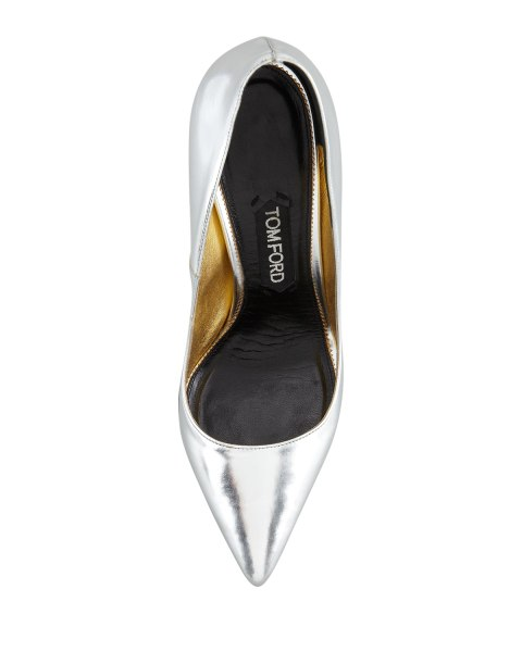 Pointy Toe Silver Shoes