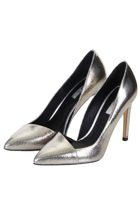 Pewter Court Shoes