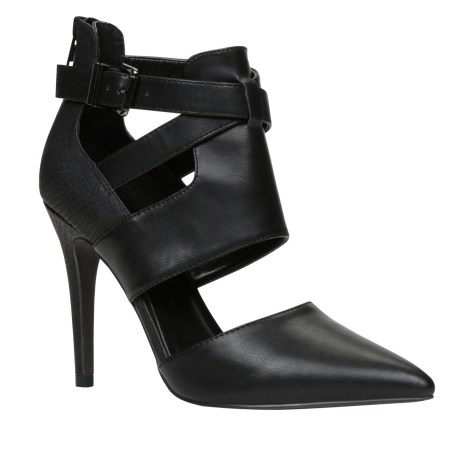 Aldo black peat high heels