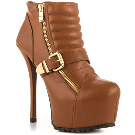 platform high heel boots