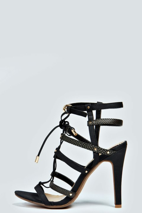 Caged Sandals