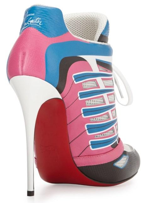 sneaker high heels by Christian Louboutin