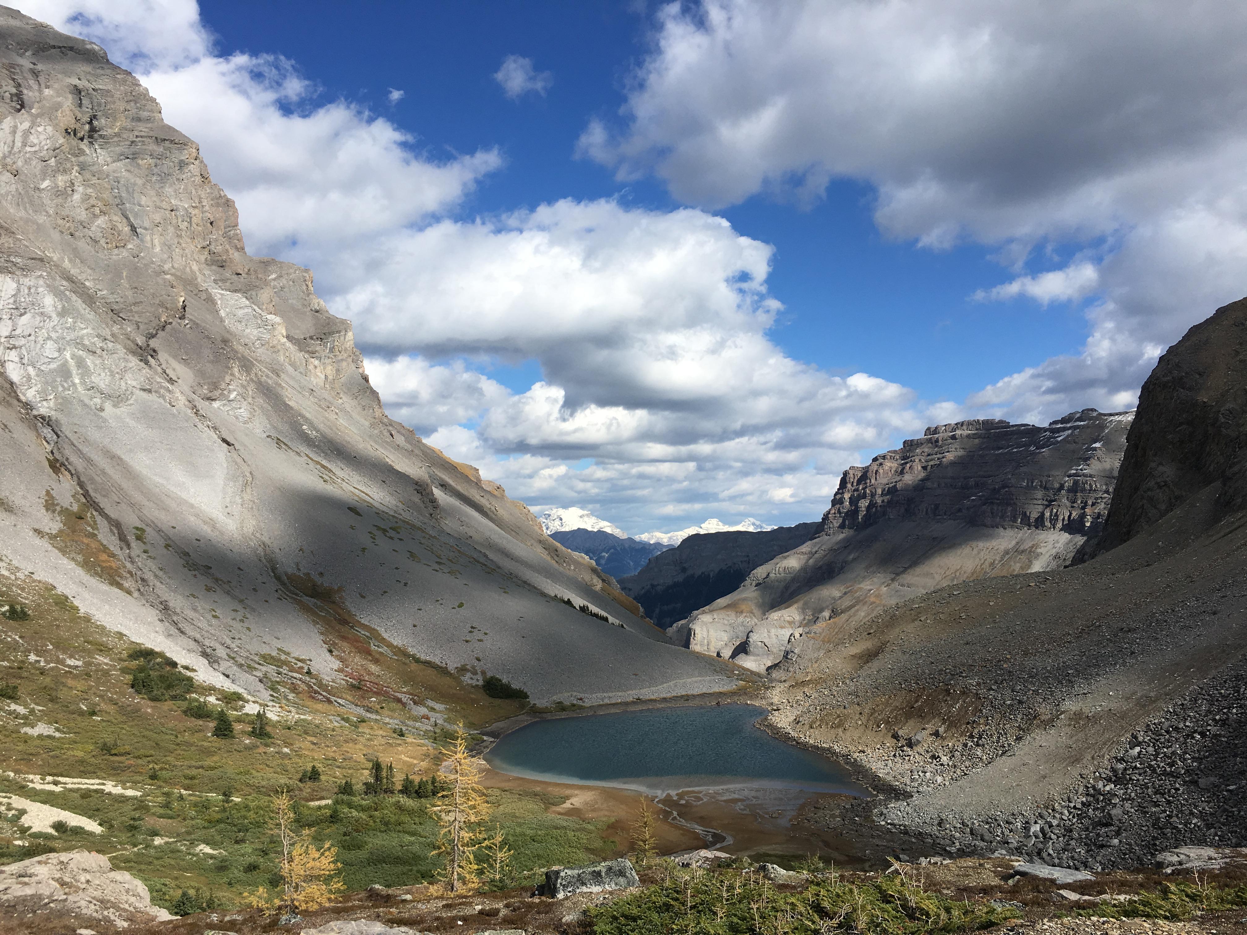 Bourgeau Lake and Harvey Pass {Banff National Park}