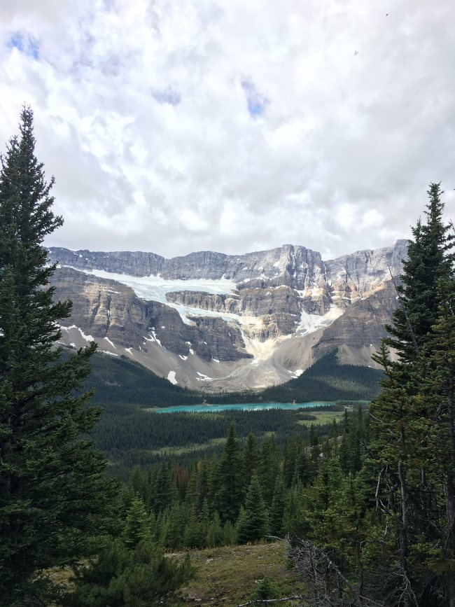 Dolomite Mountain and Helen Lake, Banff