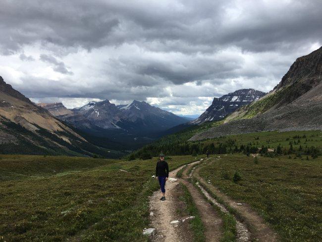 Dolomite Mountain and Helen Lake, Banff