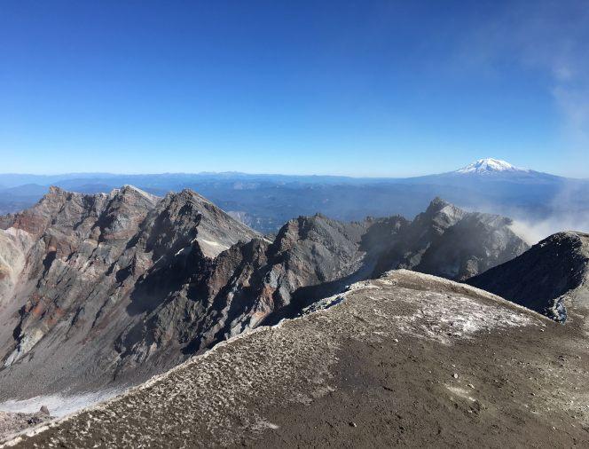 the top mount st. helens monitor ridge