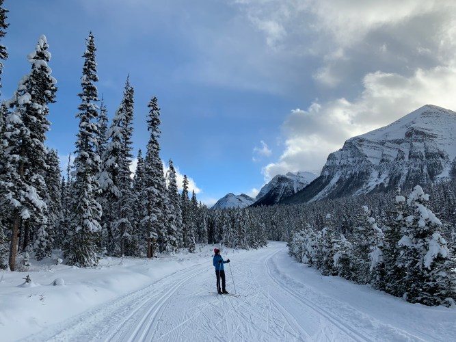 Skiing the Great Divide Trail