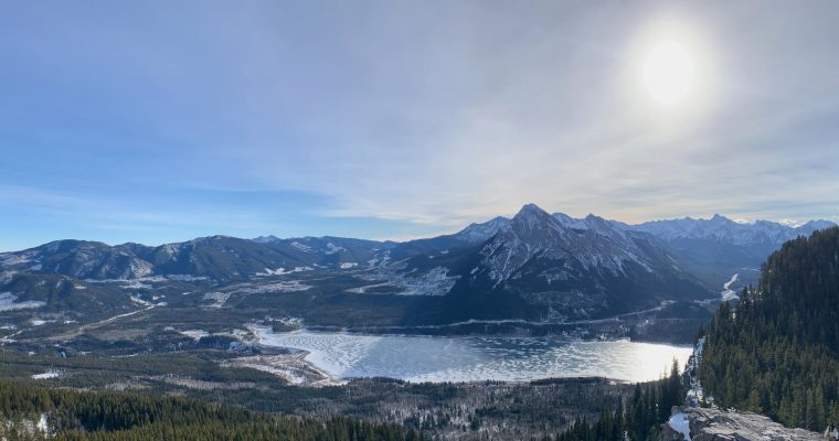 Prairie View and Jewell Pass Winter Hike {Kananaskis Country}