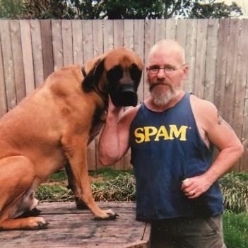 Doug Holland and Dog