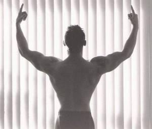 Arjan Meijer back pose