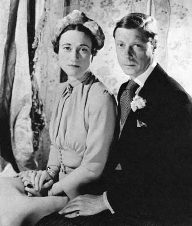 duke and duchess of Windsor wedding day