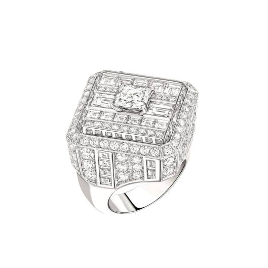 Chanel Café Society Broadway ring.