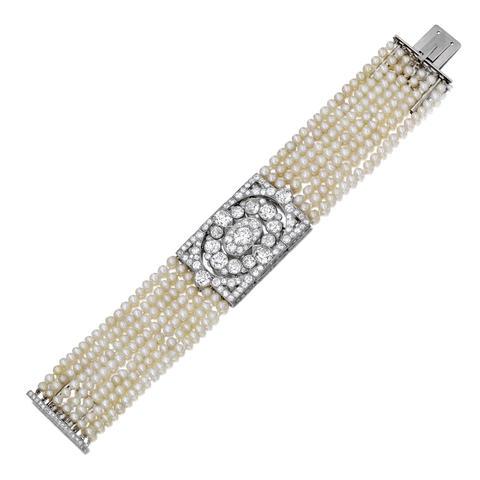Cartier pearl bracelet
