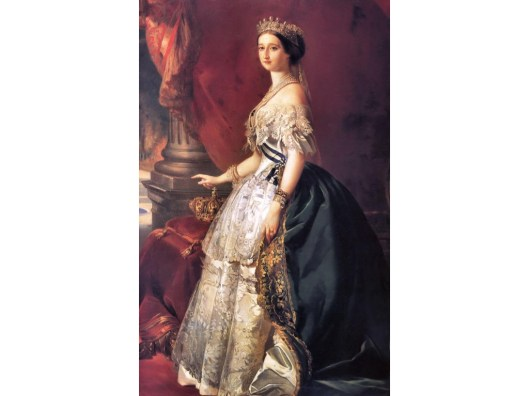 Empress Eugenie by Franz Xaver Winterhalter, 1853.