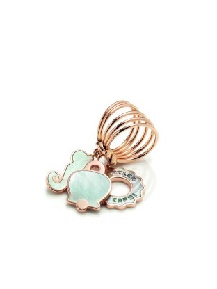 Chantecler Anima playful ring: all the brand's icons at your finger.