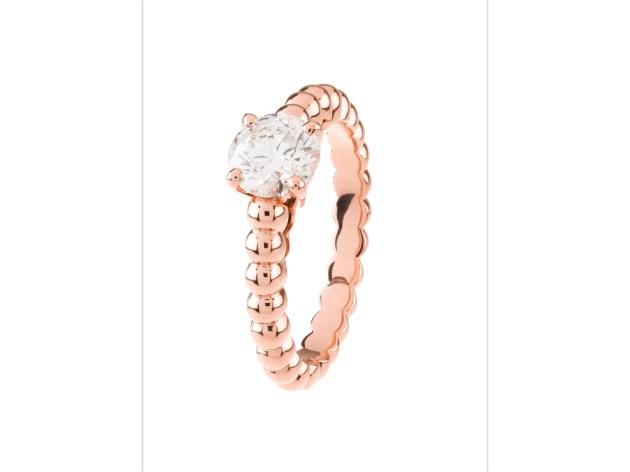 Perlée pink rose ring.001