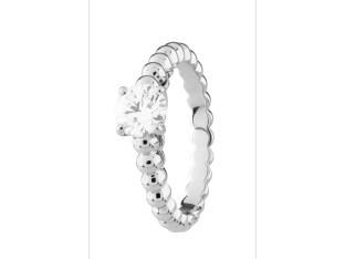 Perlée solitaire,white gold, diamond