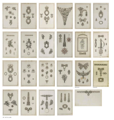 Antique drawings