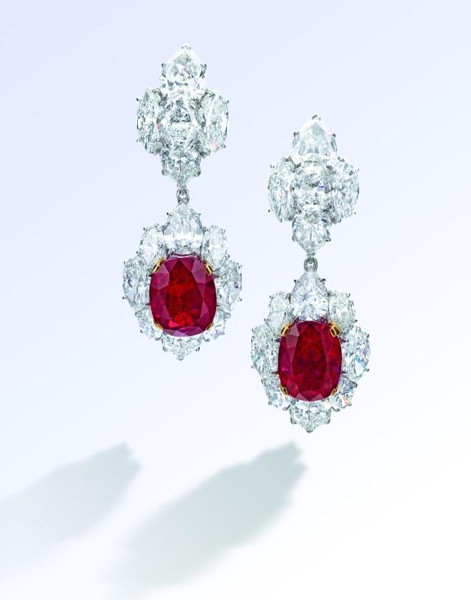 Bulgari 7.80 & 7.10-ct Burmese Mogok Ruby and Diamond Pendent Earrings_CMYK (2)