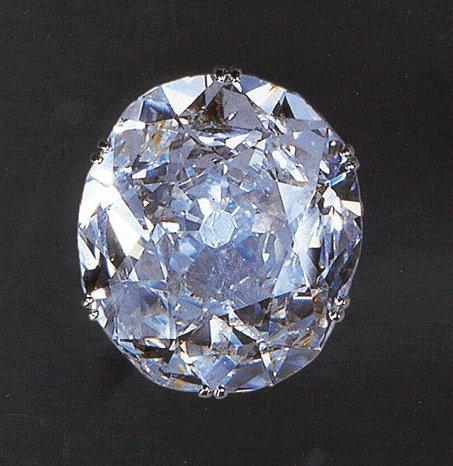 The Koh-i-Noor diamond.