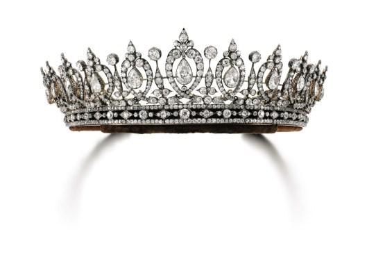 Diamond Tiara Necklace, circa 1890
