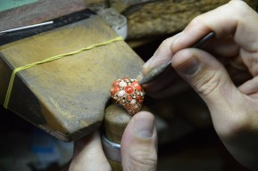 Craftsmanship at Chantecler's workshop.