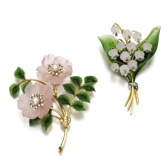 Vacheron Constantin Flower Brooch
