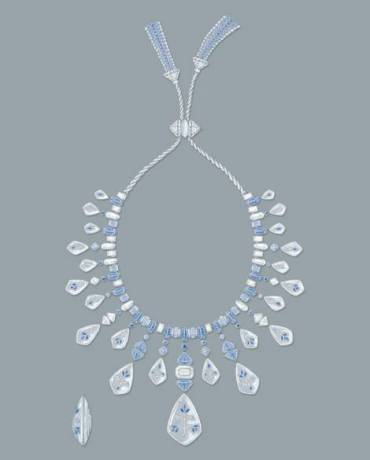 Boucheron, Bleu de Jodhpur High Jewellery Collection. Jodhpur Necklace.