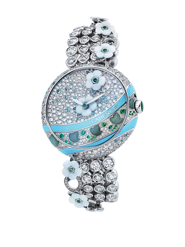 Fabergé Summer in Provence Turquoise Timepiece