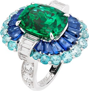 Adria Ring. Seven Seas High jewellery Collection. Van Cleef & Arpels.
