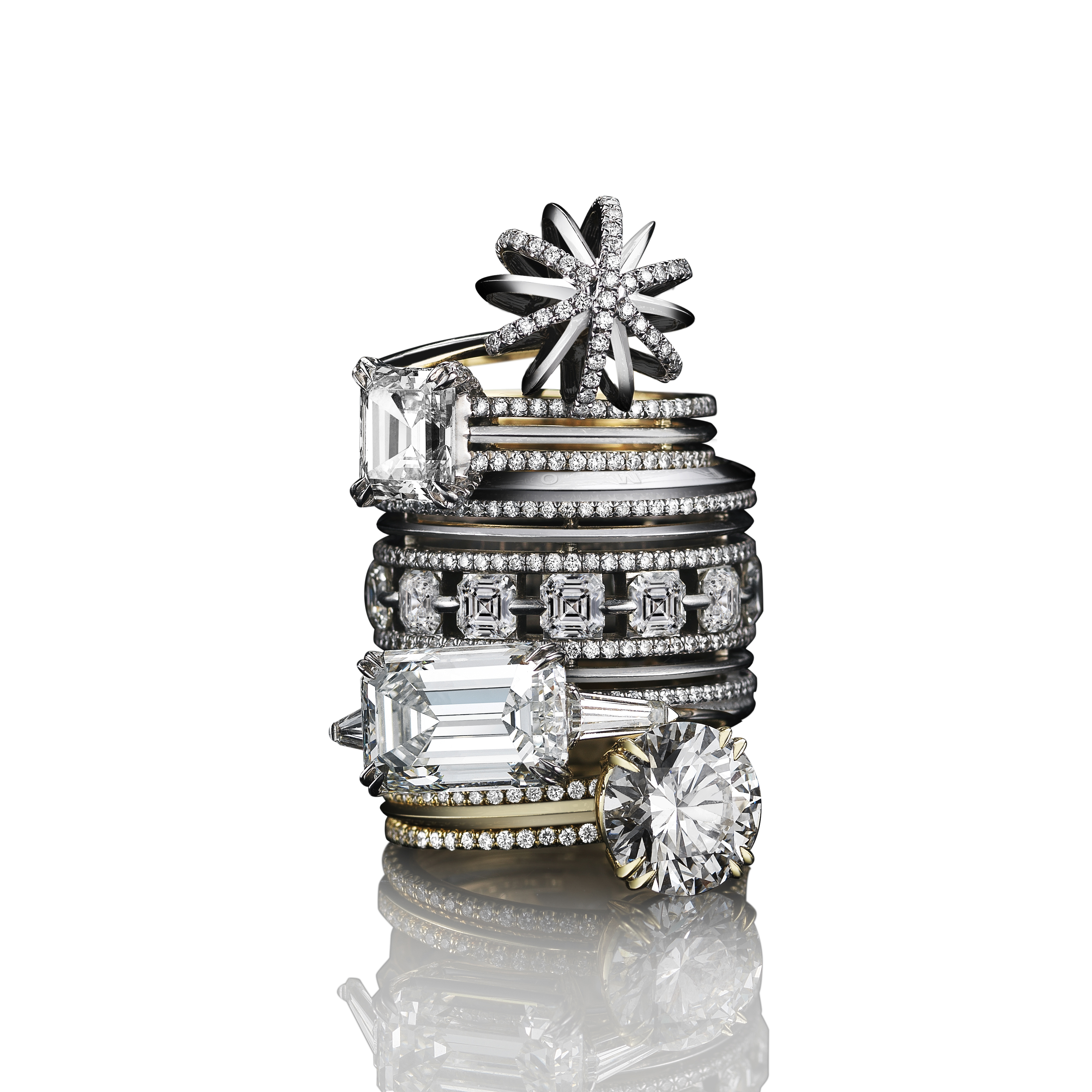 Alexandra Mor Diamond Collection.