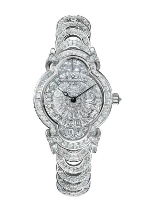 Hears Créatives- Heure Romantique with baguette-cut diamonds (circa 17 cts).