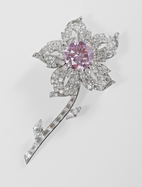 The Williamson Brooch, 1953, Cartier Diamonds.