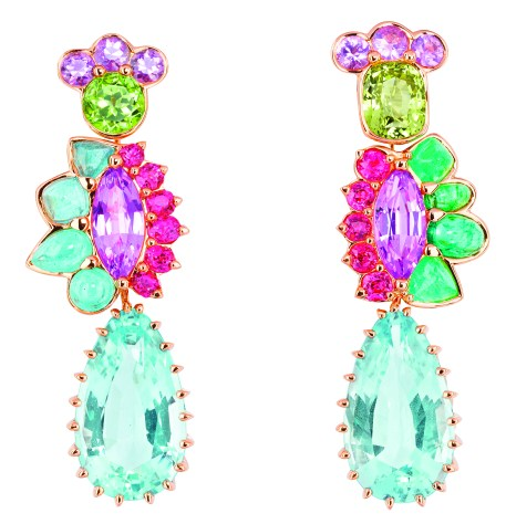 Granville Aigue Marine Earrings