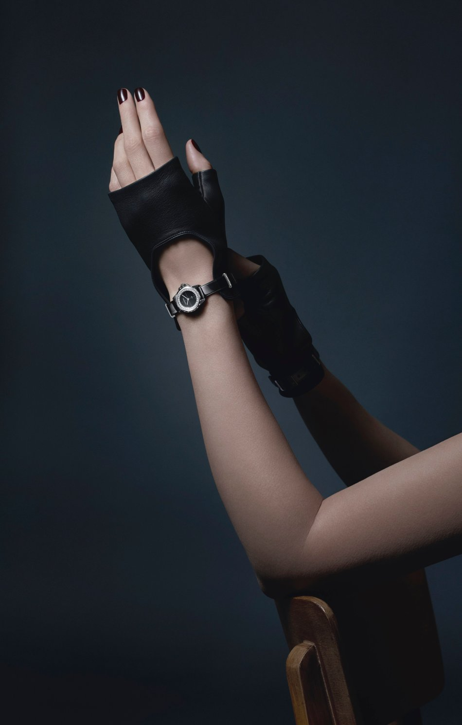 Chanel J12 XS Gants Noirs