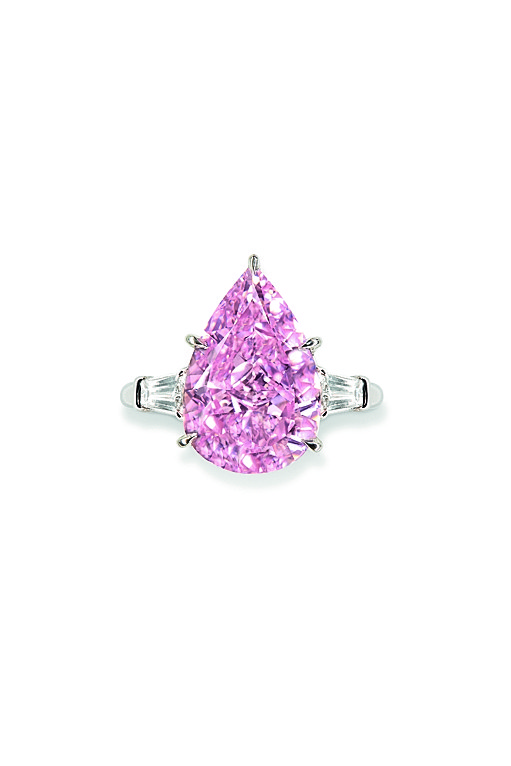 Fancy Vivid Pink diamond Christie's