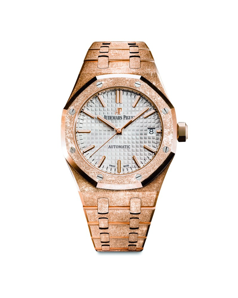 Royal Oak Frosted Gold 37mm