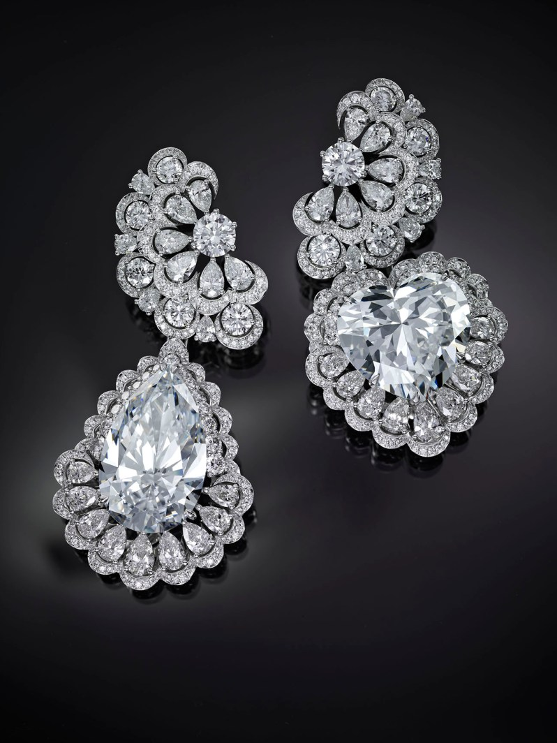Chopard, Queen of Kalahari, boucles d'oreilles