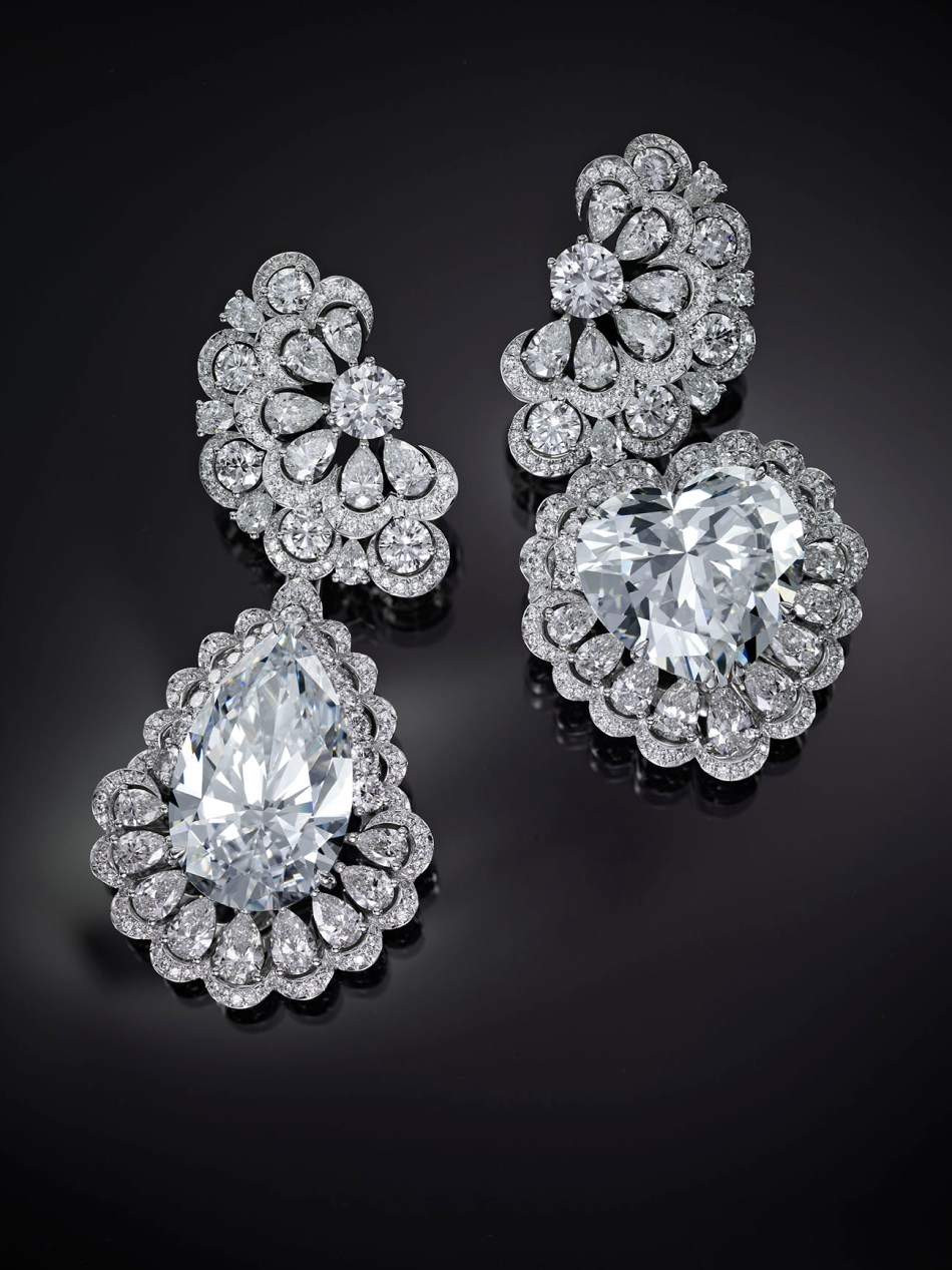 Chopard, Queen of Kalhahari, boucles d'oreilles