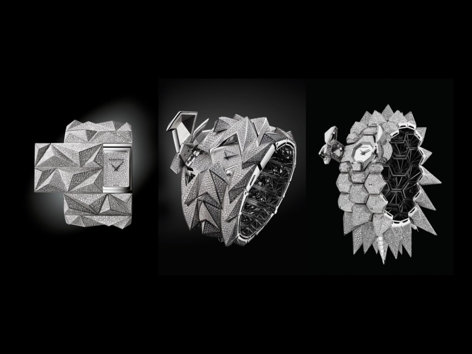 Audemars Piguet Diamond Punk, Diamond Fury and Diamond Outrage