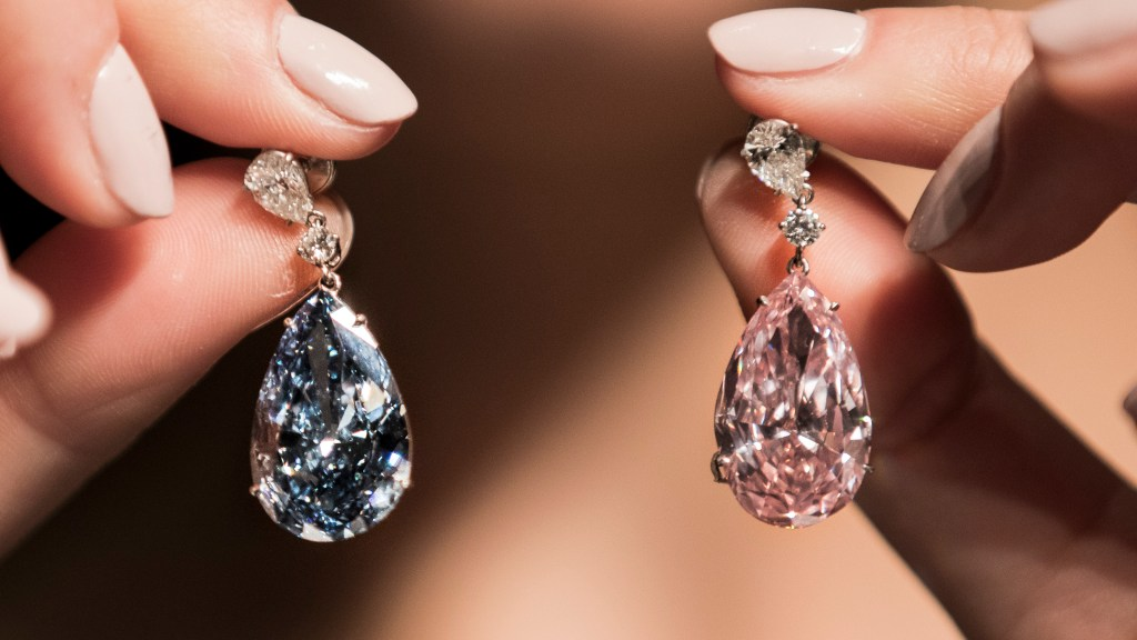 Apollo and Artemis diamonds Sotheby's Geneva
