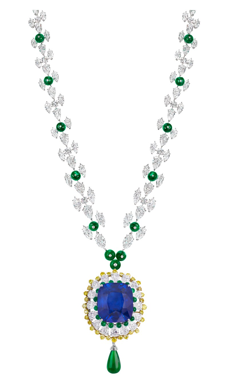 Moussaieff - Natural Burma Sapphire pendant