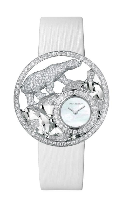 Boucheron Ajourée Arctique Watch