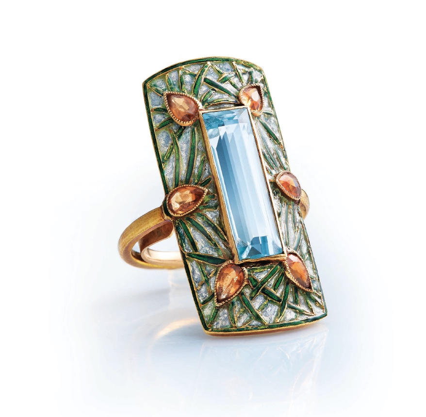Christie's Georges Fouquet ring