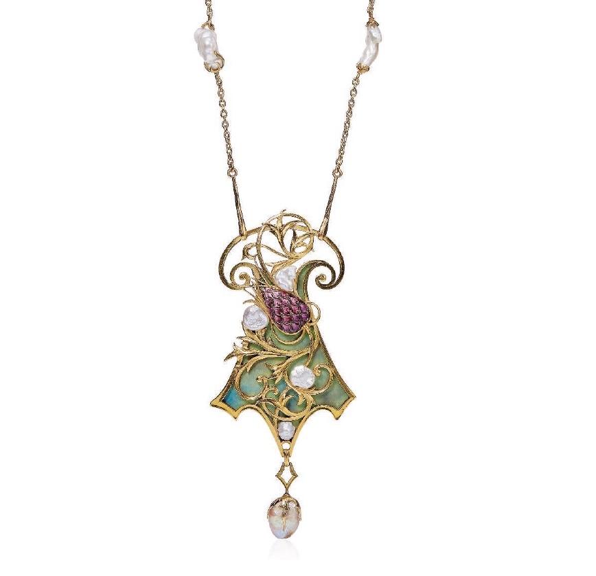 Christie's Pendant Necklace by Fouquet