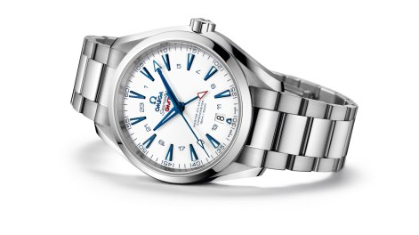 AQUA TERRA 150M OMEGA MASTER CO-AXIAL GMT 43 MM GoodPlanet