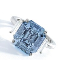 The Poetry of a Blue Diamond