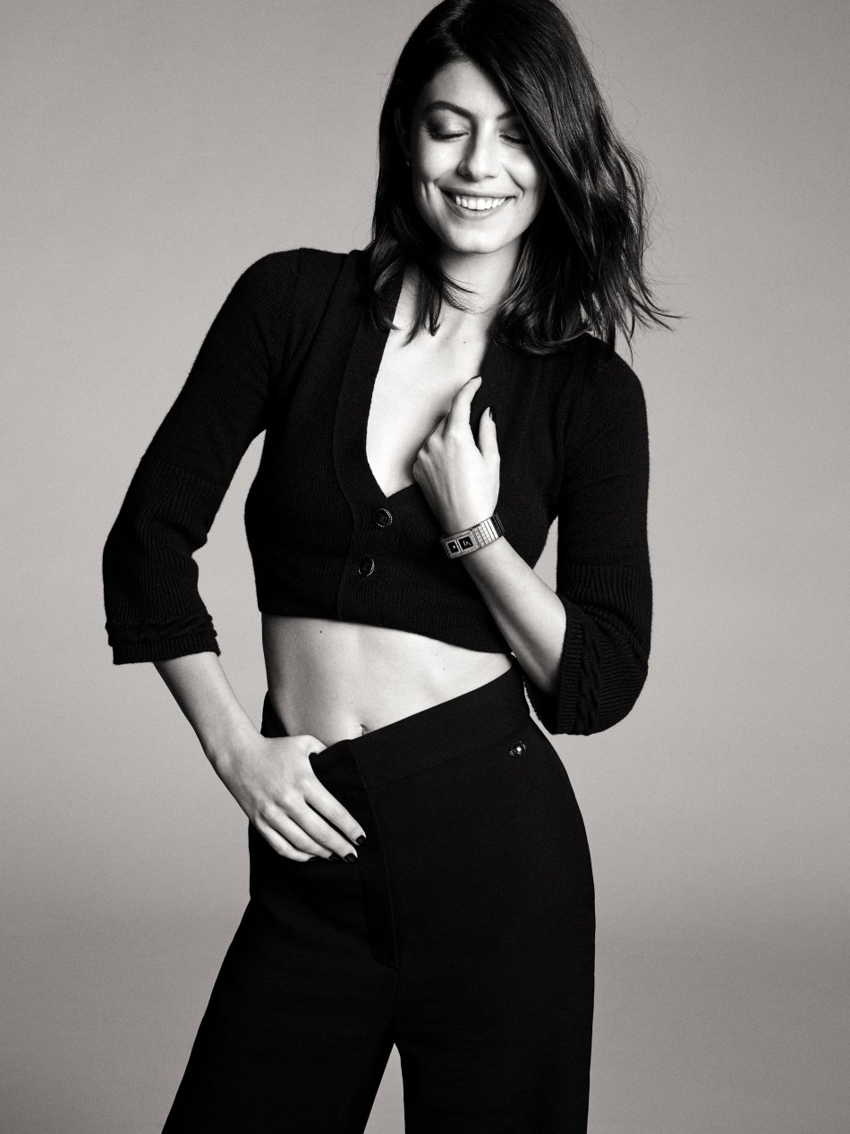 Alessandra Mastronardi for Chanel Code Coco