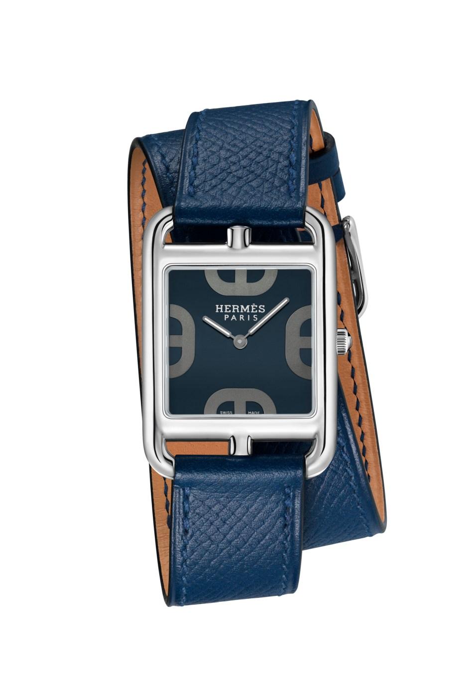 Cape Cod Maltese blue, large model, double strap bracelet