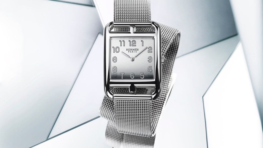 Cape Cod by Hermès Grand Model Milanese bracelet